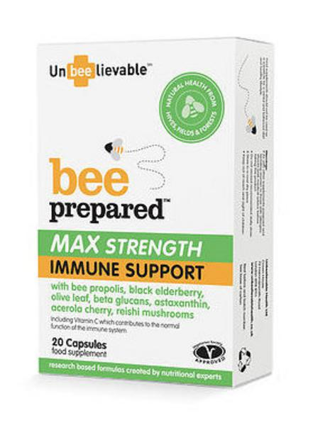 Bee Prepared Max Strength Immune Support Supplement