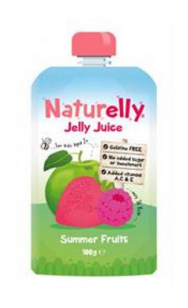 Summer Fruits Jelly Juice Drink Gluten Free