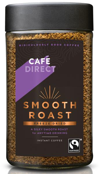 Smooth Roast Instant Freeze Dried Coffee FairTrade