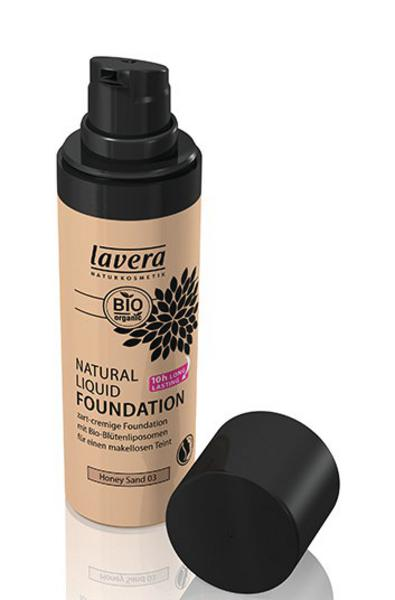 Liquid Foundation Honey Sand 03 No Gluten Containing Ingredients, ORGANIC