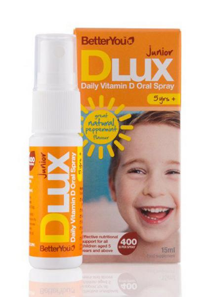 DLux Junior Vitamin D Spray