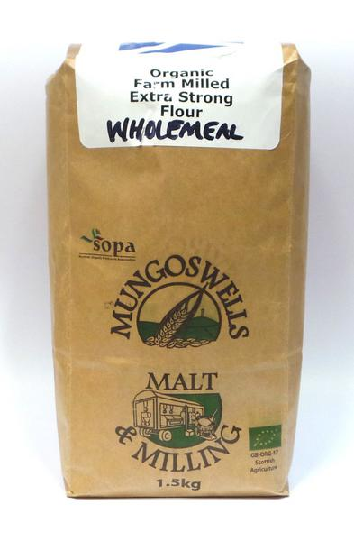 Extra Strong Wholemeal Flour