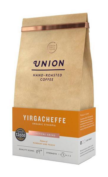 Yirgacheffe Ground Coffee ORGANIC