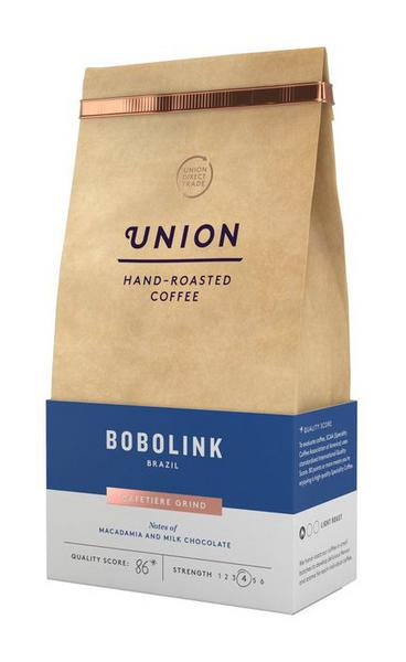 Bobolink Brazil Ground Coffee