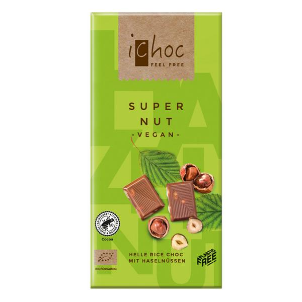 Super Nut Alternative to Milk Chocolate ORGANIC