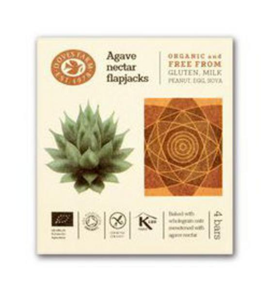 Agave Nectar Free From Flapjack dairy free, Gluten Free, Vegan, ORGANIC