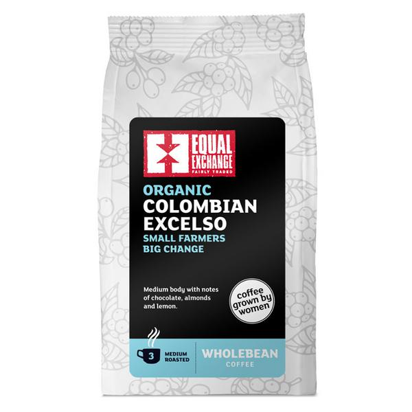 Colombian Excelso Coffee Beans FairTrade, ORGANIC