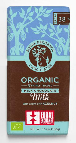 Milk Chocolate With Hazelnut ORGANIC