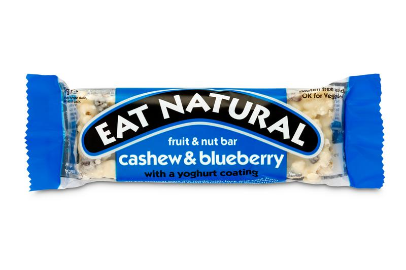 Blueberry Yoghurt Coated Snackbar
