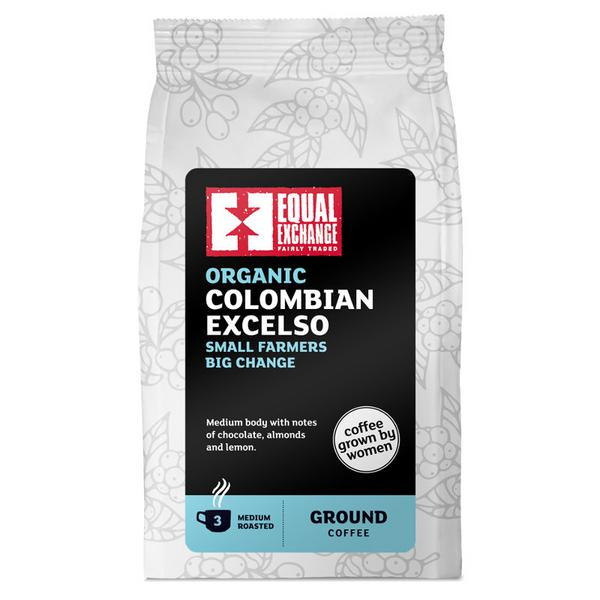 Colombian Excelso Roast & Ground Coffee FairTrade, ORGANIC