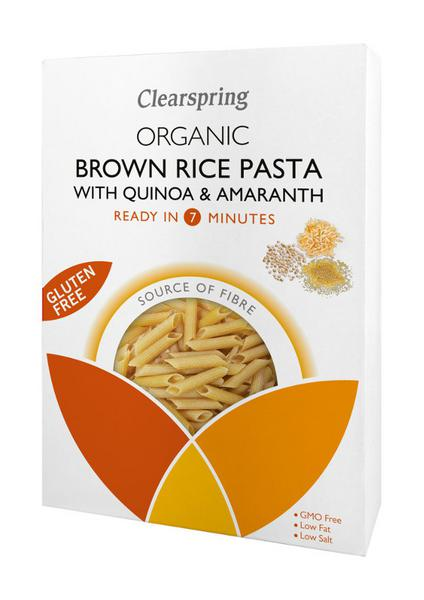 Brown Rice Penne Pasta With Quinoa & Amaranth Gluten Free, ORGANIC