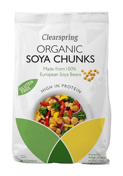 Soya Chunks Gluten Free, ORGANIC