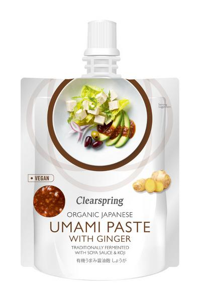 Umami Paste With Ginger