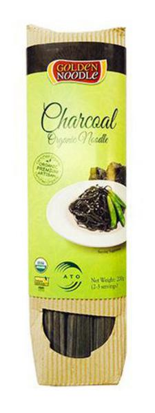Charcoal Stick Noodles Vegan, ORGANIC
