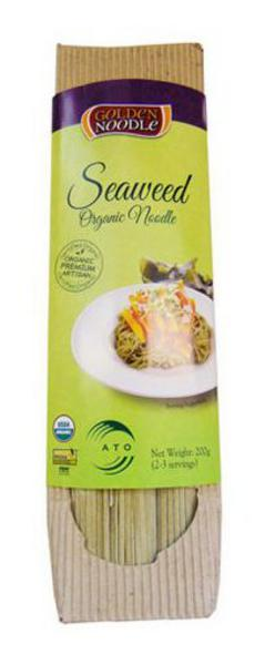 Seaweed Infused Noodles Vegan, ORGANIC