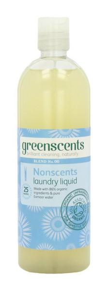 Nonscents Laundry Liquid Vegan, ORGANIC