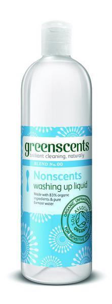 Nonscents Washing Up Liquid Vegan, ORGANIC