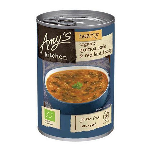 Quinoa,Kale & Red Lentil Soup Gluten Free, Vegan, ORGANIC