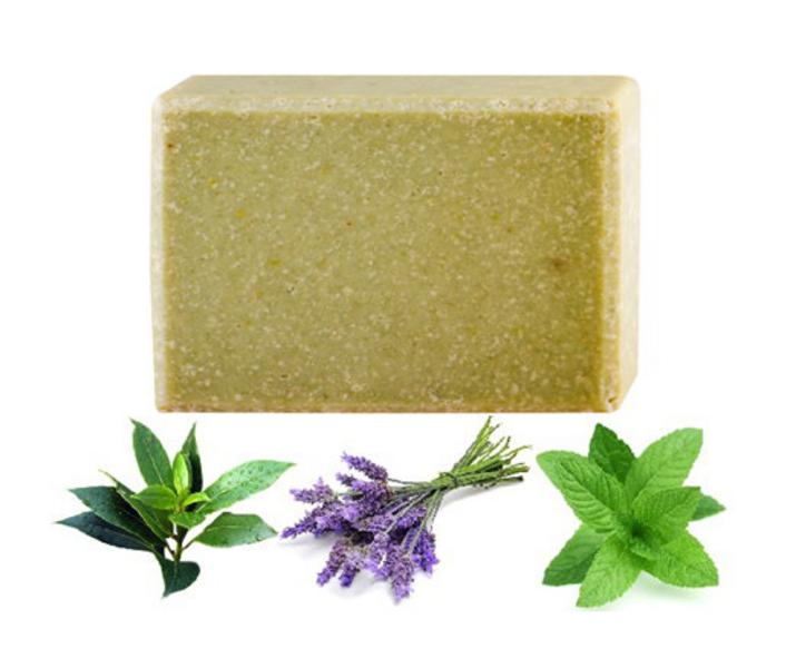Organic Tea Tree,Peppermint & Cucumber Soap