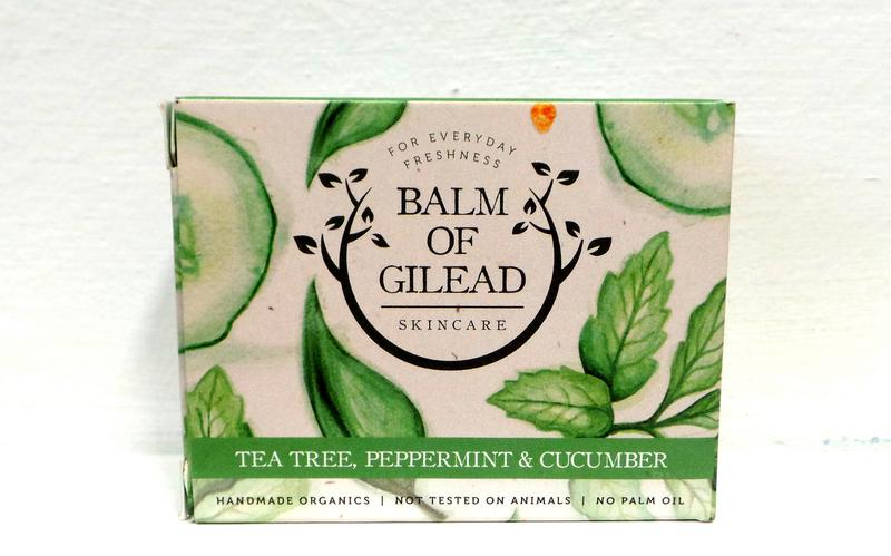 Organic Tea Tree,Peppermint & Cucumber Soap  image 2