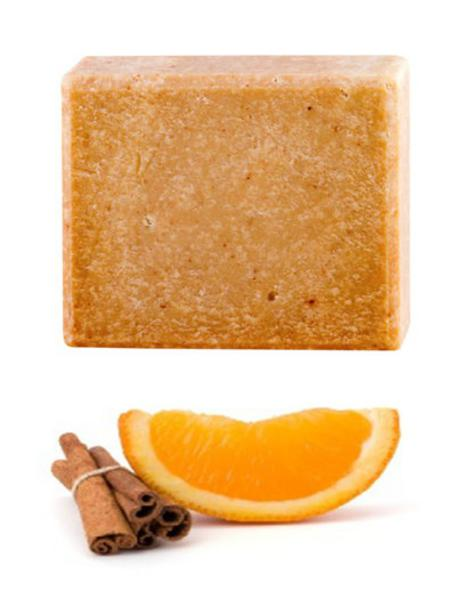 Organic Sweet Orange,Cinnamon & Frankincense Soap