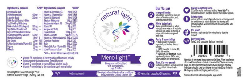 Meno light Supplement  image 2