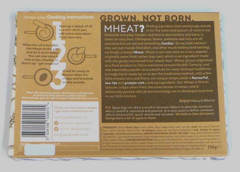 Mheat Original Seitan Steak dairy free image 2