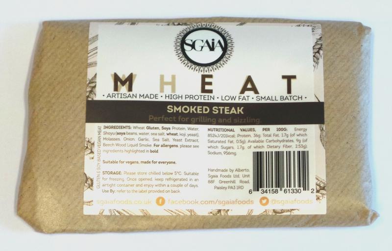 Mheat Smoked Seitan Steak dairy free