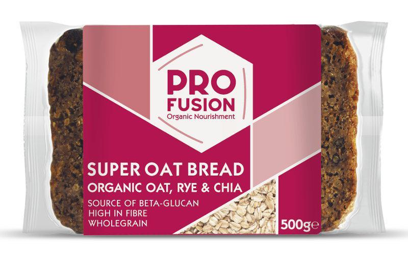Super Oat Bread Rye & Chia Vegan, ORGANIC