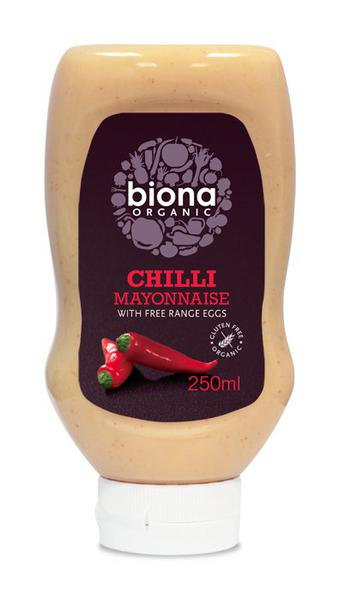 Chilli Squeezy Mayonnaise Gluten Free, ORGANIC