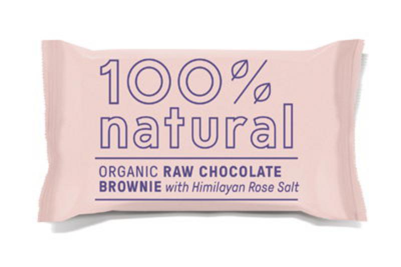 Chocolate Brownie With Himalayan Rose Salt Gluten Free, Vegan, ORGANIC