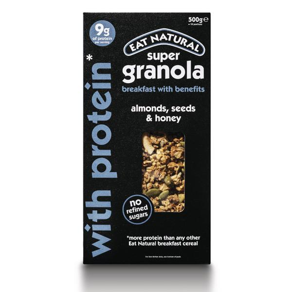 Super Granola Protein Packed In 500g From Eat Natural