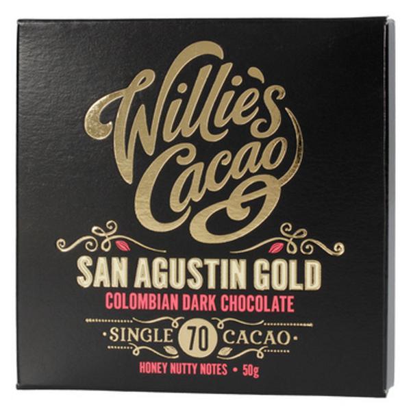 Dark Chocolate 70 San Agustin Gold Vegan