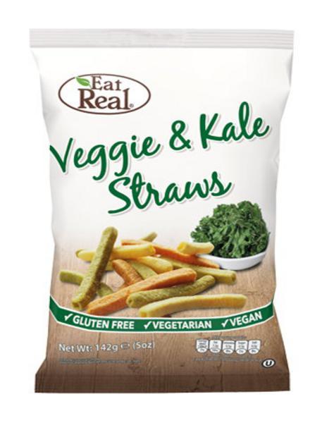 Veggie & Kale Straws Gluten Free, Vegan