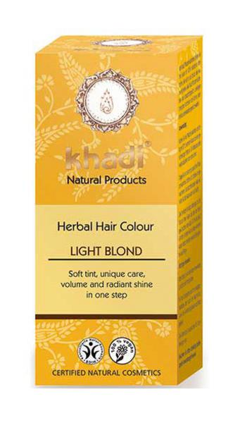 Light Blonde Hair Colourant Vegan, ORGANIC
