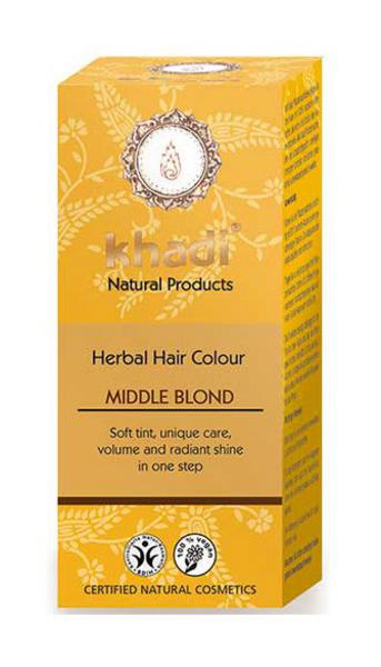 Medium Blonde Hair Colourant Vegan, ORGANIC