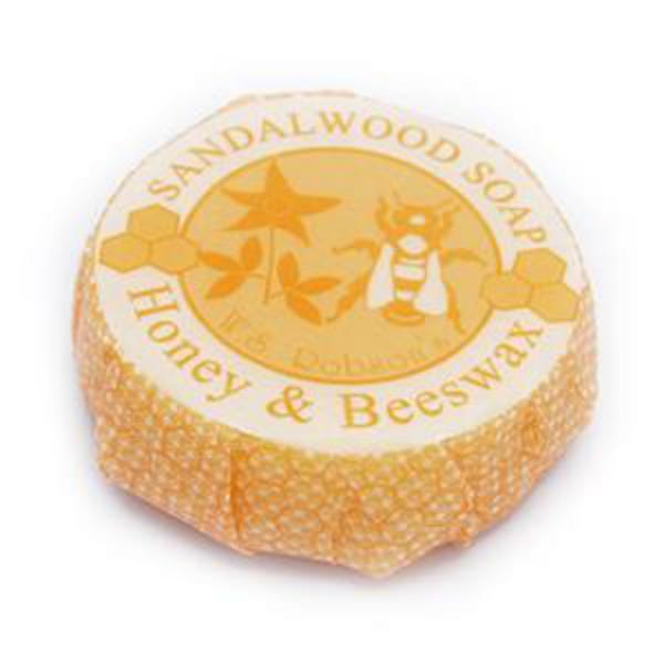 Honey & Beeswax Soap Sandalwood