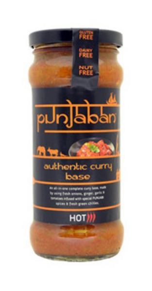 Authentic Curry Base Hot Gluten Free