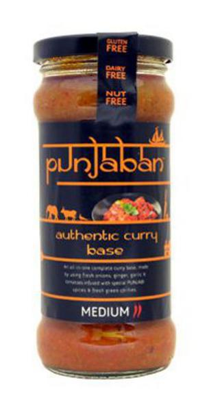 Authentic Curry Base Medium Gluten Free
