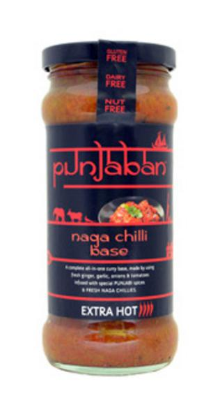 Naga Chilli Curry Base Gluten Free