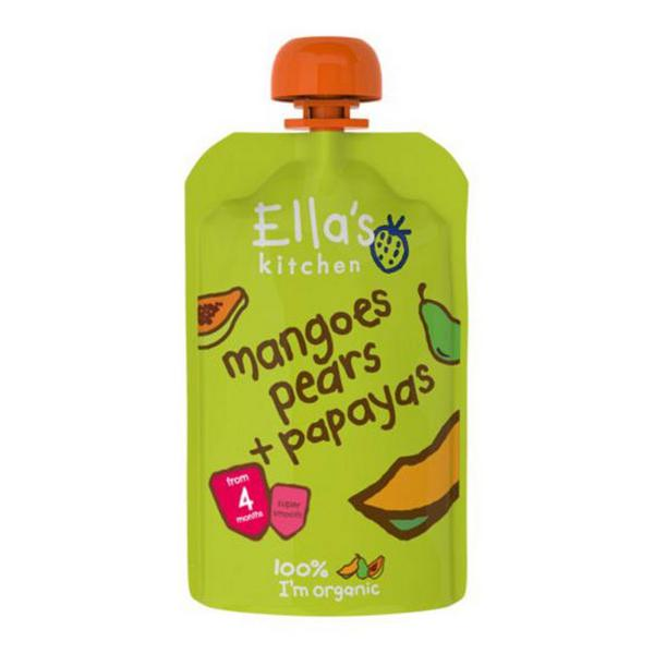 Mangoes,Pears & Papaya Baby Food