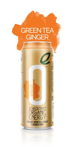 Green Tea & Ginger Energy Drink ORGANIC
