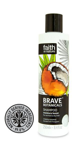 Brave Botanicals Coconut & Frangipani Moisture Boost Shampoo