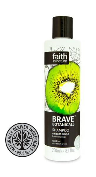 Brave Botanicals Smooth Shine Kiwi & Lime Shampoo