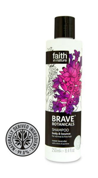 Brave Botanicals Lavender&Jasmine Body & Bounce Shampoo