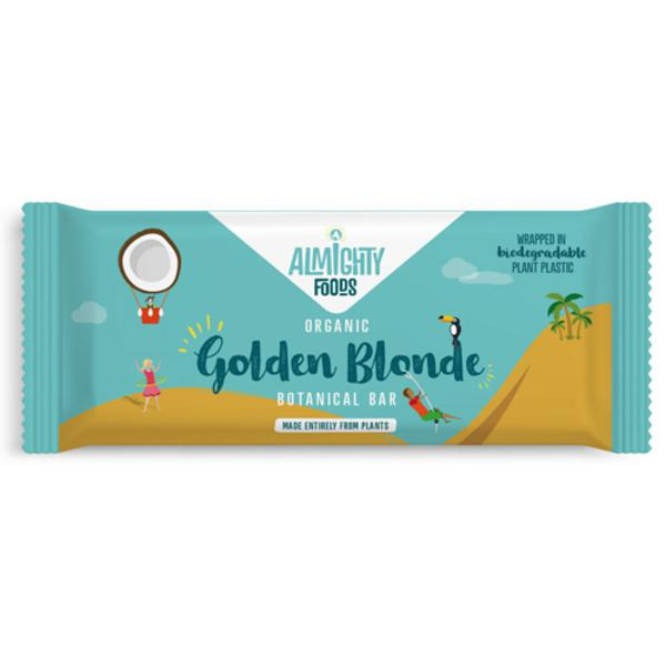Golden Blonde Raw Chocolate Bar Vegan, ORGANIC