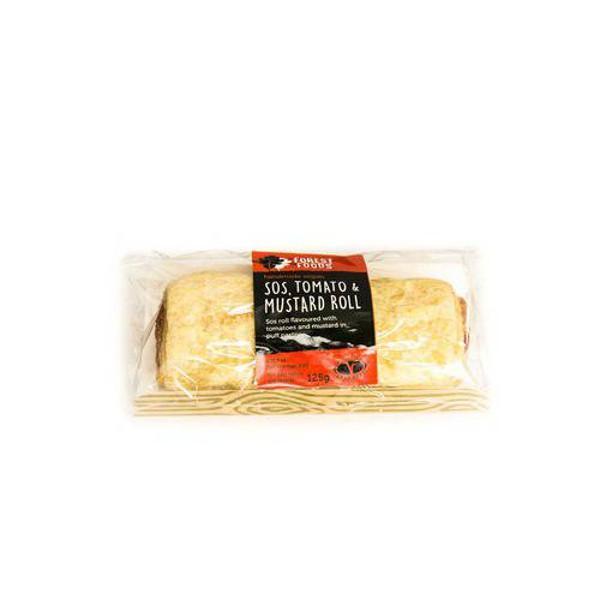 Sos,Mustard & Tomato Pastry Roll Vegan