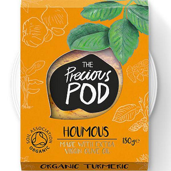 Turmeric Hummus Vegan