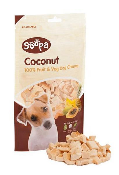 Coconut Chews Dog Treats