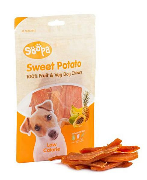 Sweet Potato Chews Dog Treats